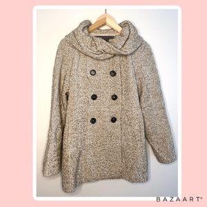 ZARA winter brown jacket
